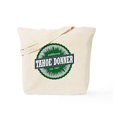 Tahoe Donner Downhill Ski Resort Californ Tote Bag