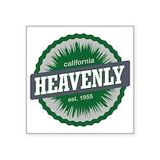 "Heavenly Mountain Resort Sk Square Sticker 3"" x 3"""