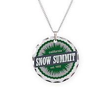 Snow Summit Mountain Resort  Necklace