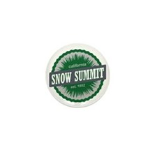 Snow Summit Mountain Resort Ski Resort Mini Button