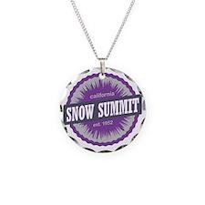 Snow Summit Ski Resort Calif Necklace