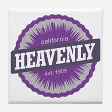 Heavenly Mountain Ski Resort Californ Tile Coaster