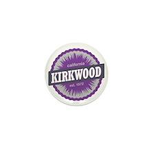 Kirkwood Mountain Ski Resort Californi Mini Button
