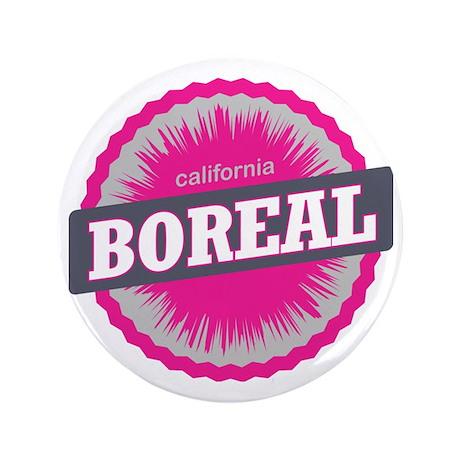 """Boreal Mountain Ski Resort California 3.5"""" Button"""