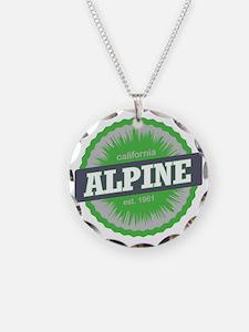 Alpine Meadows Ski Resort Ca Necklace