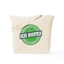 Bear Mountain Ski Resort California Lime  Tote Bag