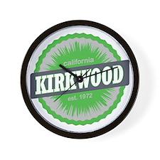 Kirkwood Mountain Ski Resort California Wall Clock