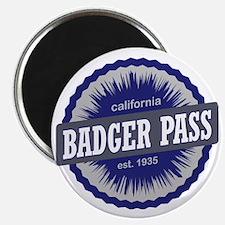Badger Pass Ski Resort California Navy Blue Magnet
