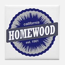 Homewood Mountain Ski Resort Californ Tile Coaster