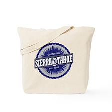 Sierra-at-Tahoe Ski Resort California Nav Tote Bag