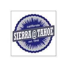 "Sierra-at-Tahoe Ski Resort  Square Sticker 3"" x 3"""