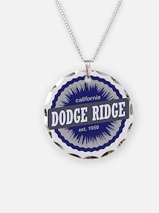 Dodge Ridge Ski Resort Calif Necklace