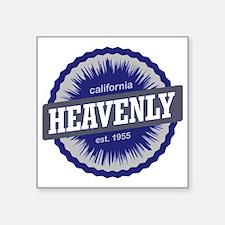 "Heavenly Mountain Ski Resor Square Sticker 3"" x 3"""