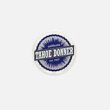 Tahoe Donner Downhill Ski Resort Calif Mini Button
