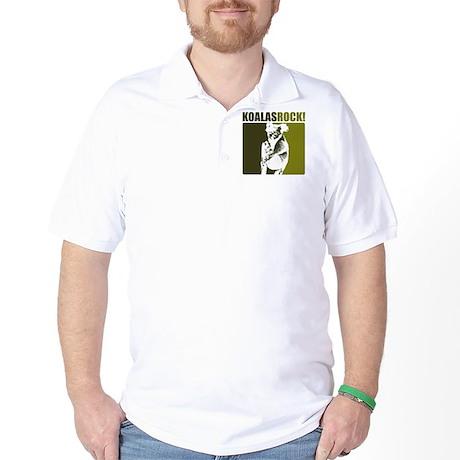 Koalas Rock! Golf Shirt