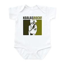 Koalas Rock! Infant Bodysuit