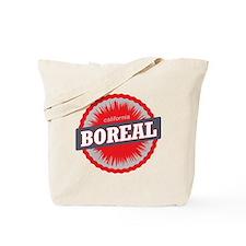 Boreal Mountain Ski Resort California Red Tote Bag