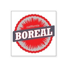 "Boreal Mountain Ski Resort  Square Sticker 3"" x 3"""