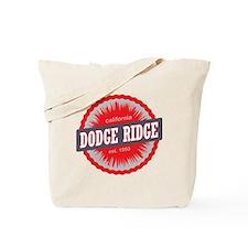 Dodge Ridge Ski Resort California Red Tote Bag