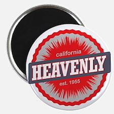 Heavenly Mountain Ski Resort California Red Magnet