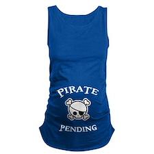 Pirate Pending Maternity Tank Top