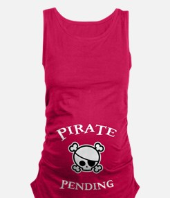 Pirate Pending Maternity Tank Top