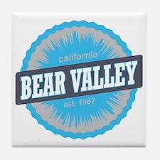 Bear Valley Mountain Ski Resort Calif Tile Coaster