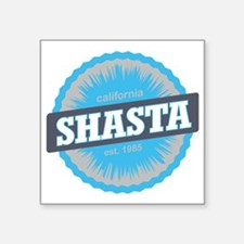 "Mount Shasta Ski Resort Cal Square Sticker 3"" x 3"""