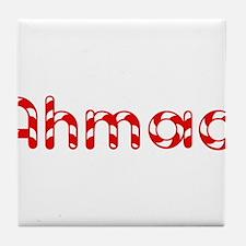 Ahmad - Candy Cane Tile Coaster