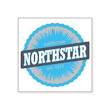 """Northstar California Ski Re Square Sticker 3"""" x 3"""""""