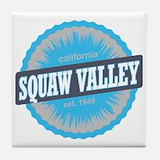 Squaw Valley Ski Resort California Sk Tile Coaster