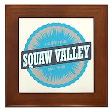 Squaw Valley Ski Resort California Sky Framed Tile