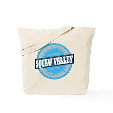 Squaw Valley Ski Resort California Sky Bl Tote Bag