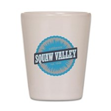 Squaw Valley Ski Resort California Sky  Shot Glass