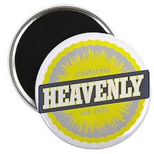 Heavenly Mountain Ski Resort California Yel Magnet