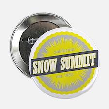 """Snow Summit Ski Resort California Yel 2.25"""" Button"""