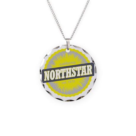 Northstar California Ski Res Necklace Circle Charm