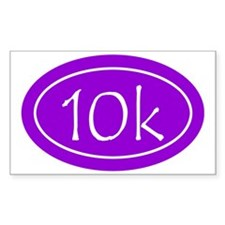 Purple 10k Oval Decal