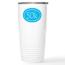 Sky Blue 50k Oval Travel Mug