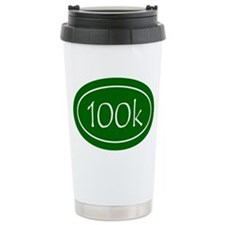 Green 100k Oval Travel Mug
