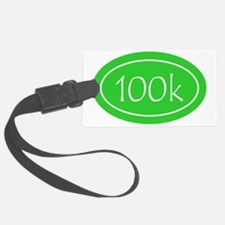 Lime 100k Oval Luggage Tag