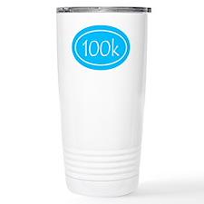 Sky Blue 100k Oval Travel Mug