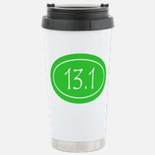 Lime 13.1 Oval Stainless Steel Travel Mug