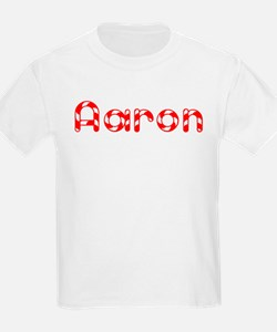 Aaron - Candy Cane Kids T-Shirt