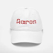 Aaron - Candy Cane Baseball Baseball Cap