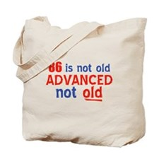 funny 86 year old designs Tote Bag
