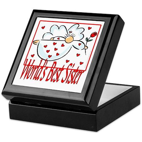 World's Best Sister Keepsake Box