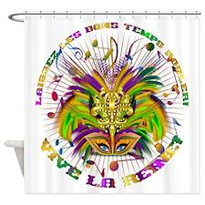 Mardi Gras Queen 4 Shower Curtain