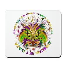 Mardi Gras Queen 4 Mousepad