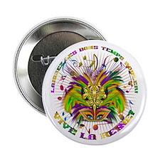 "Mardi Gras Queen 4 2.25"" Button (100 pack)"